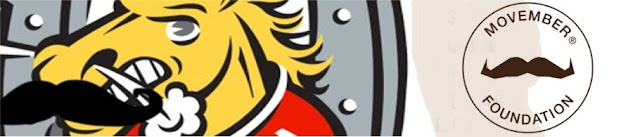 Help the Barrie Colts raise funds for Movember! #OHL