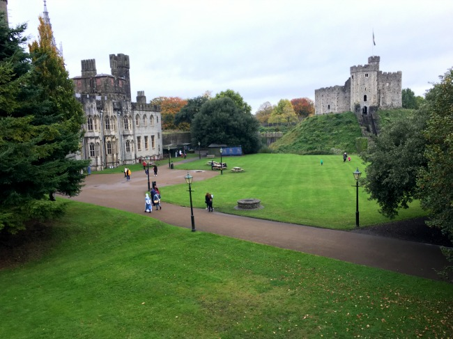 Cardiff-Castle-and-Norman-keep