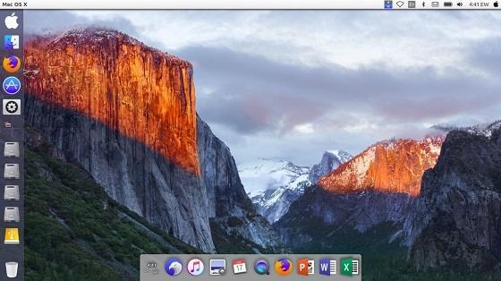 memodifikasi ubuntu v18.04 dengan tampilan mac os x tehnomac