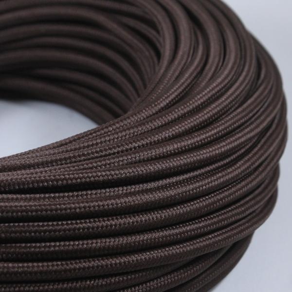 C ble lectrique textile tissu torsad vintage pour - Cable electrique tissu ...
