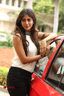 Chandini Chowdary Pictures in Black Denim Jeans at Kundanapu Bomma Telugu Movie Press Meet | ~ Bollywood and South Indian Cinema Actress Exclusive Picture Galleries
