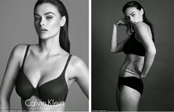 Calvin Klein Myla Dalbesio lingerie trend