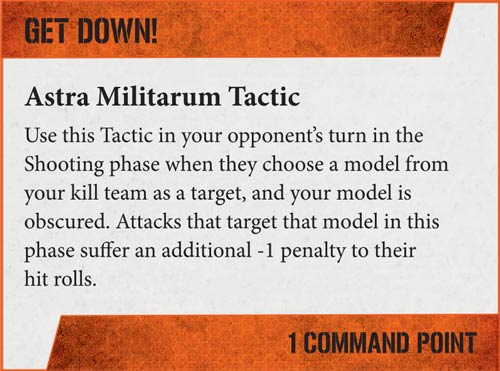 Tácticas Kill Team Astra Militarum
