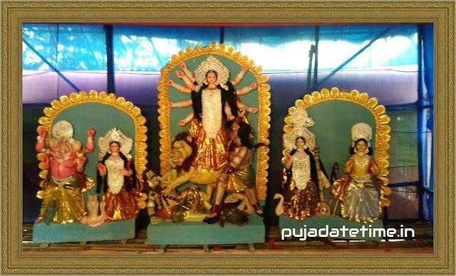 Jambari Sarbajanin Durga Puja - Kushmandi,