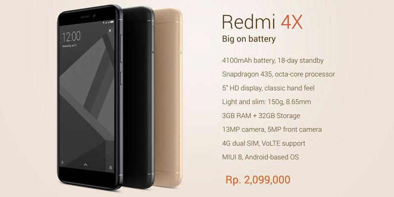 Xiaomi Redmi 4x, asuransi kesehatan, teknologi terbaru
