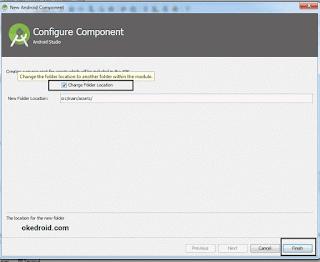 Configure Component Folder Assets
