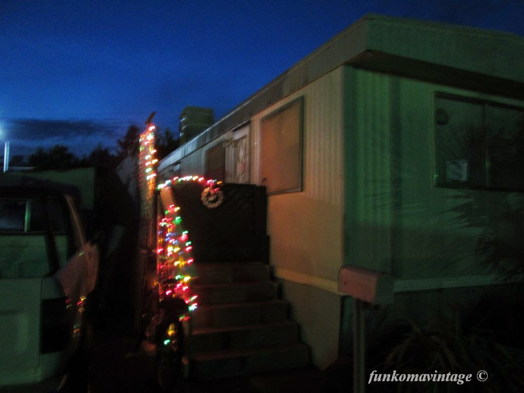 funkoma vintage*the recycled life: My Trailer Park Xmas on nature home, pink home, spring home, santa home, space home, retro home, halloween home, blu home, winter home, spanish home, easter home, food home, summer home, red home, classic home, kitchen home, snow home, swedish home,