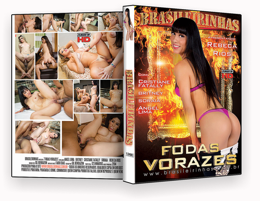 CAPA DVD – Brasileirinhas – Fodas Vorazes – ISO
