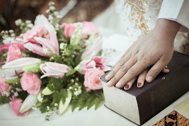 foto perkawinan katholik di gereja gamping yogyakarta