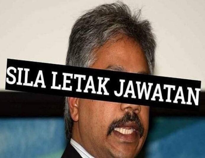 P. Waytha Moorthy Letak Jawatan