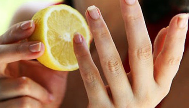 Lemon Untuk Perawatan Kuku -