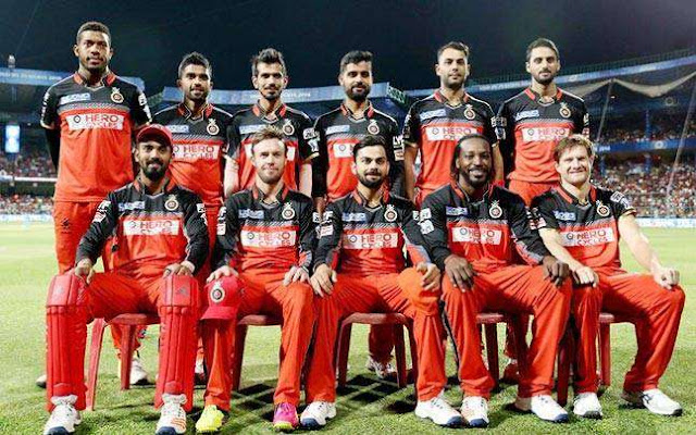 Royal Challengers Bangalore team 2019