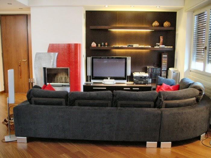 D nde colocar el tv en la sala ideas para decorar - Television en casa ...