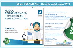 Modul PKB SMP Guru IPA edisi revisi tahun 2018