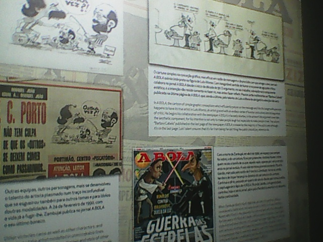BOLA  REVISTA HUMOR CARTOONS ABOUT FOOTBALL TO THE BENFICA MUSEUM