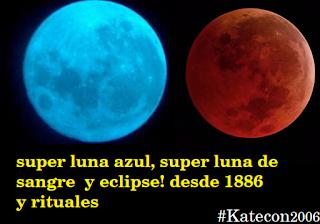 EN DIRECTO!!! GRAN Superluna azul y el eclipse de la super luna de sangre!, extraño evento astronómico 31.01.2018  #Katecon2006