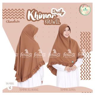 Khimar Daily Fenuza Kruwil Chocolate