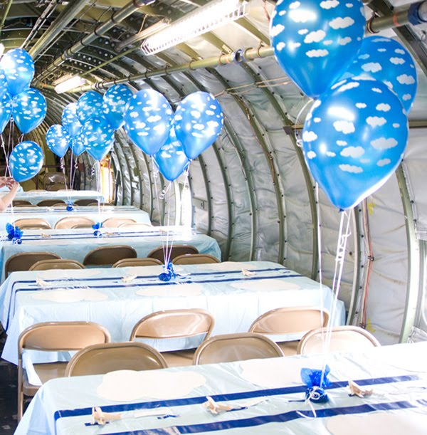 Marry2Love: Vintage Airplane Theme Party
