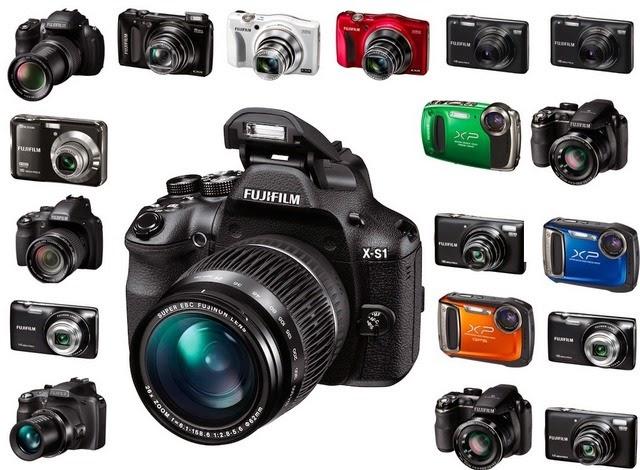 أنواع وأصناف  الكاميرات الرقمية
