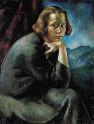 Portrait de Jeune Fille (Pensée, Contemplation), Erzsébet Korb