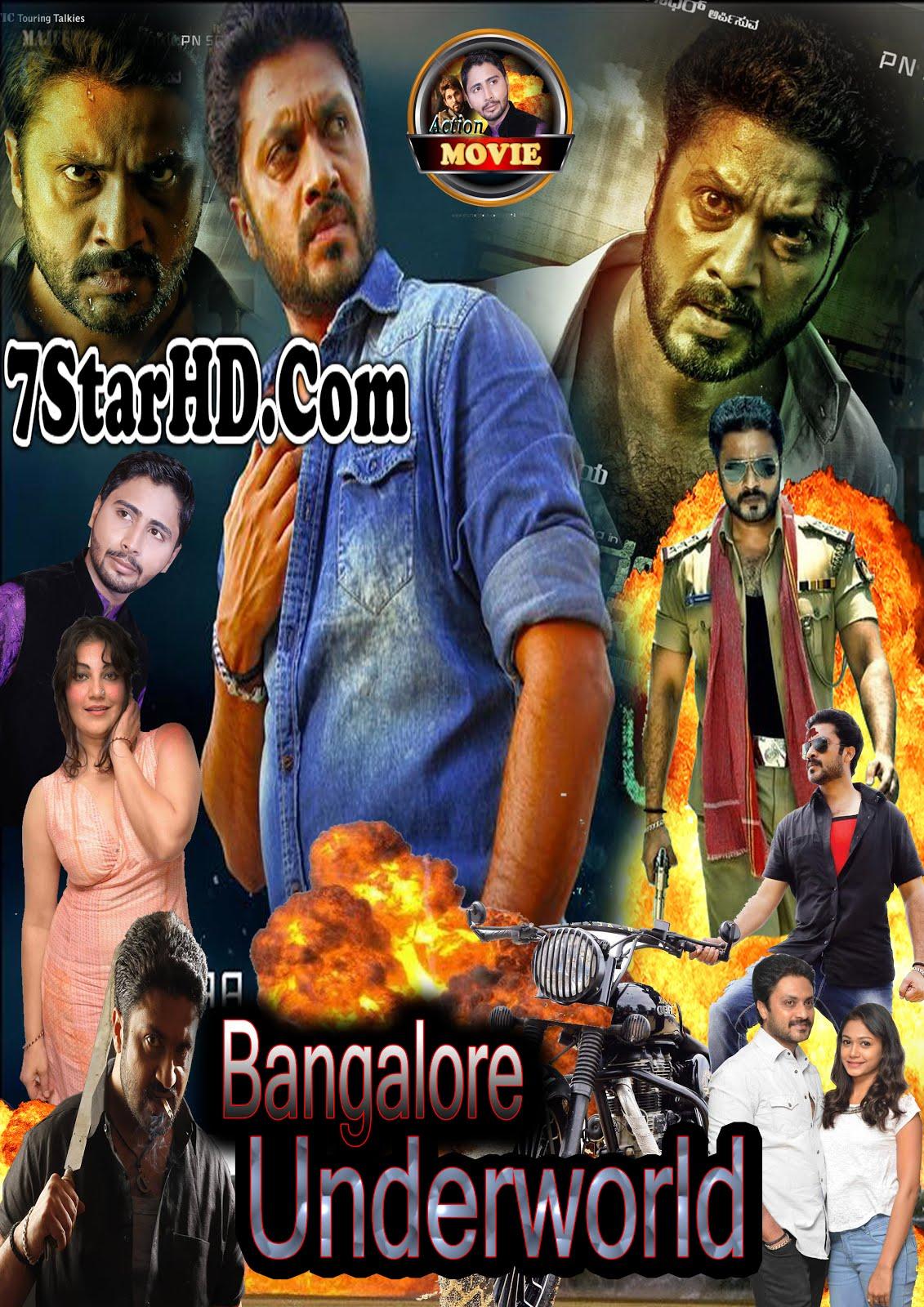 Bengaluru Underworld 2018 Hindi Dubbed 300MB HDTVRip 480p x264