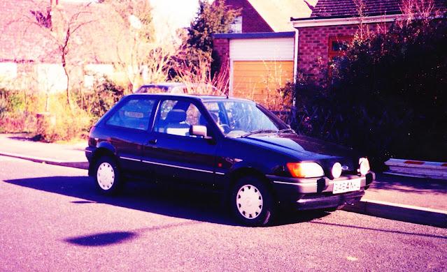 G464NKL Ford Fiesta 1.6S 1989