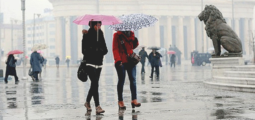 Heavy rain expected in Macedonia's west, flood threat
