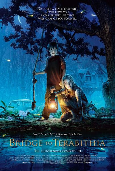 Poster Of Bridge To Terabithia 2007 720p Hindi BRRip Dual Audio Full Movie