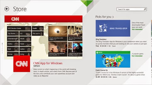 Windows 8.1 Store with New Features!