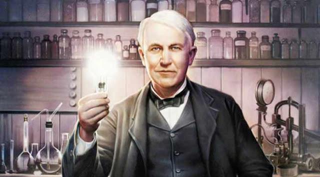 Benarkah Thomas Edison Penemu Lampu Pijar?