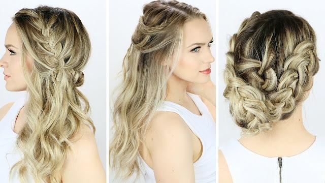 Fryzury I Upięcia Włosy Długie I Półdługie
