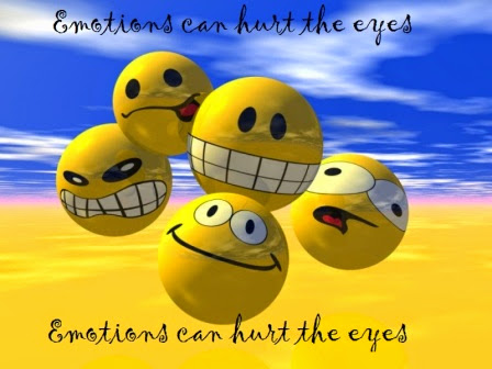 Emotions can hurt the eyes