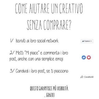 come aiutare un creativo