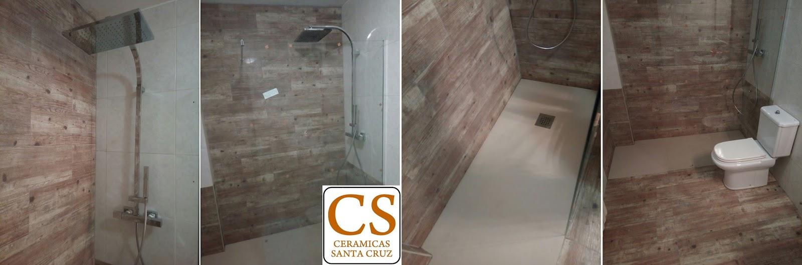 CERAMICAS SANTA CRUZ: Reforma de cuarto de baño con baldosas y ...