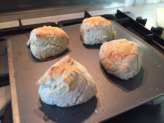 Roasted Shallot, Gruyere, and Thyme Scone