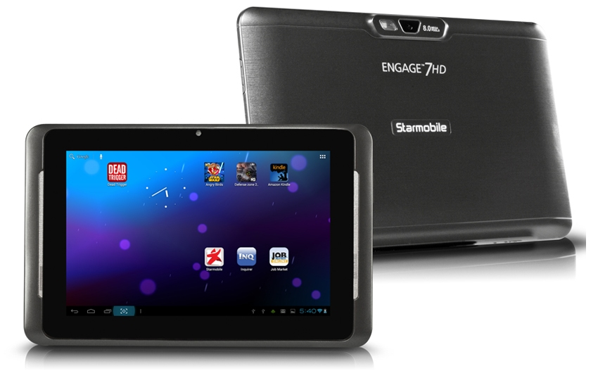 New Asian's Technology: Starmobile Engage 7HD Tablet Full Specs