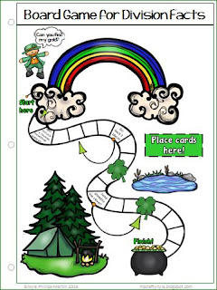 St. Patrick's Day Math Game Activity