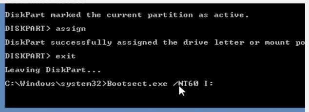 formater et installer Windows 7 à partir du disque dur externe