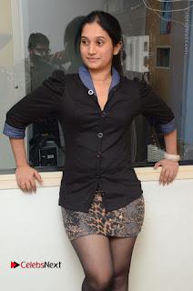 Telugu Actress Priyanka Pallavi Stills in Micro Mini Skirt at Nenosthaa Movie Song Launch at Radio City  0023.JPG