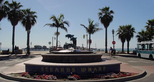 Visita ao Pier Stearns Wharf em Santa Bárbara