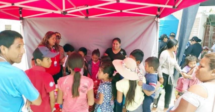 QALI WARMA: Campaña de sensibilización llega a pueblo joven San Miguel de Ica para combatir anemia - www.qaliwarma.gob.pe