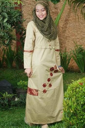 Desain baju muslim untuk orang gemuk