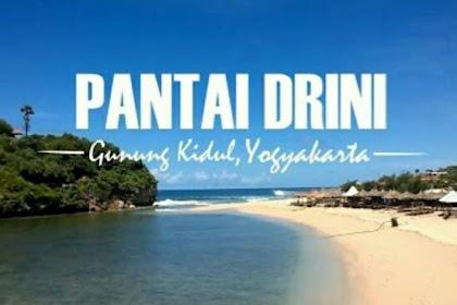 Tiket Masuk Dan Lokasi Pantai Drini Gunungkidul, Pantai Ngehits Di Jogja