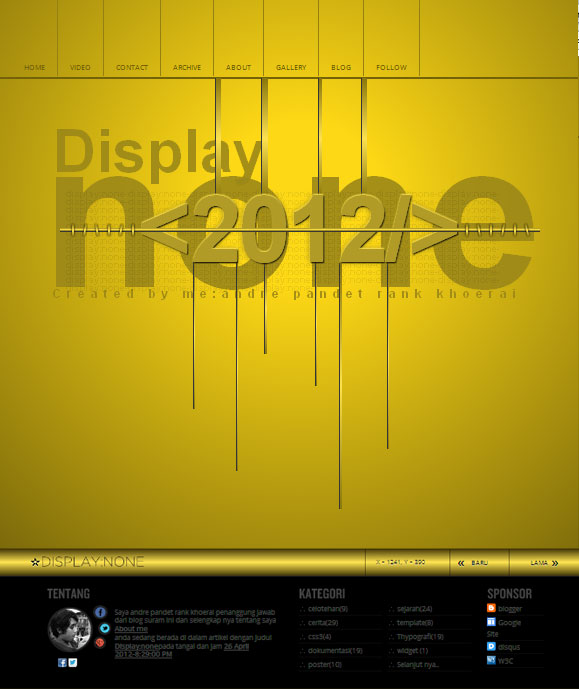 Display none