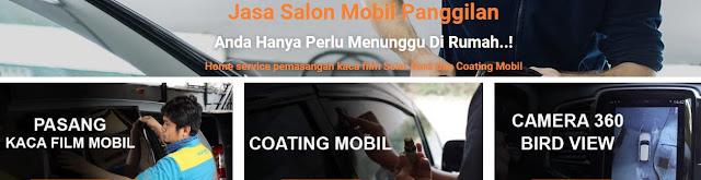 Jasa Salon Mobil yang Bisa Mobile Datang Ke Rumah Konsumen