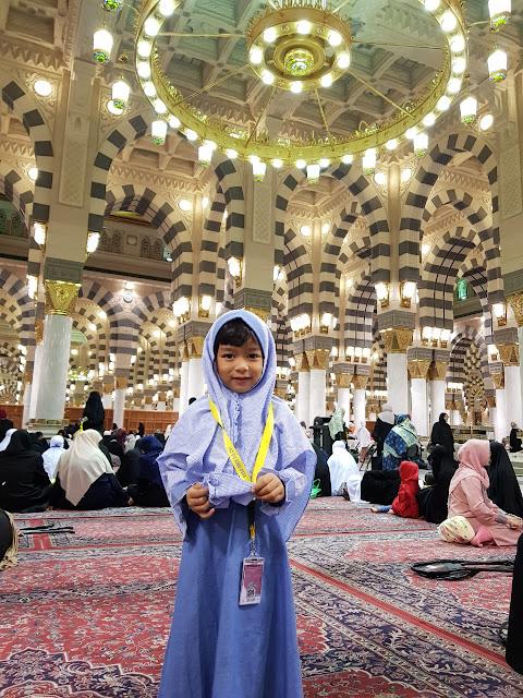 Ademnya suasana masjid nabawi