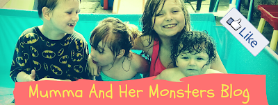 Mumma and her monsters blog