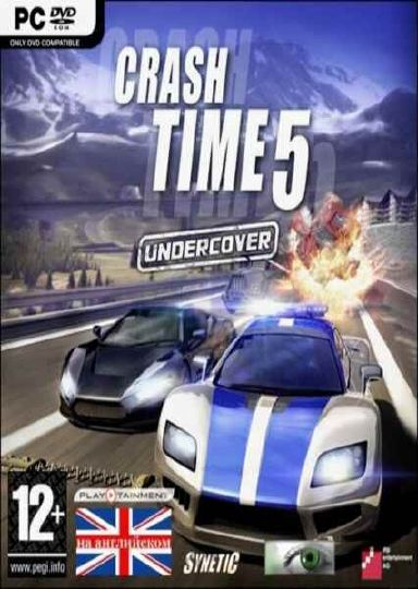 CRASH TIME 5 UNDERCOVER Cover Photo
