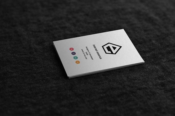 mockup de tarjeta de presentación 2018 editables gratuitas