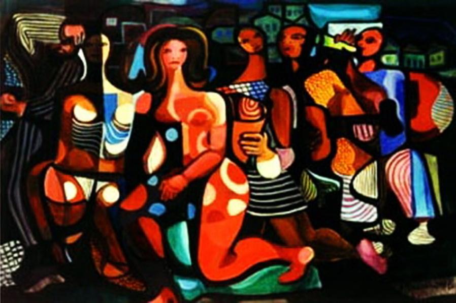 Carnaval - Di Cavalcante | Pinturas com o tema: Carnaval
